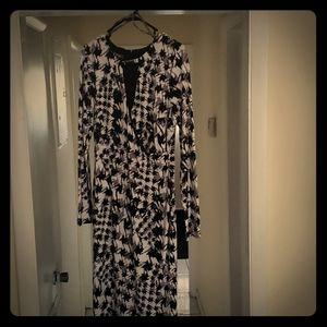 long sleeve body conscious dress